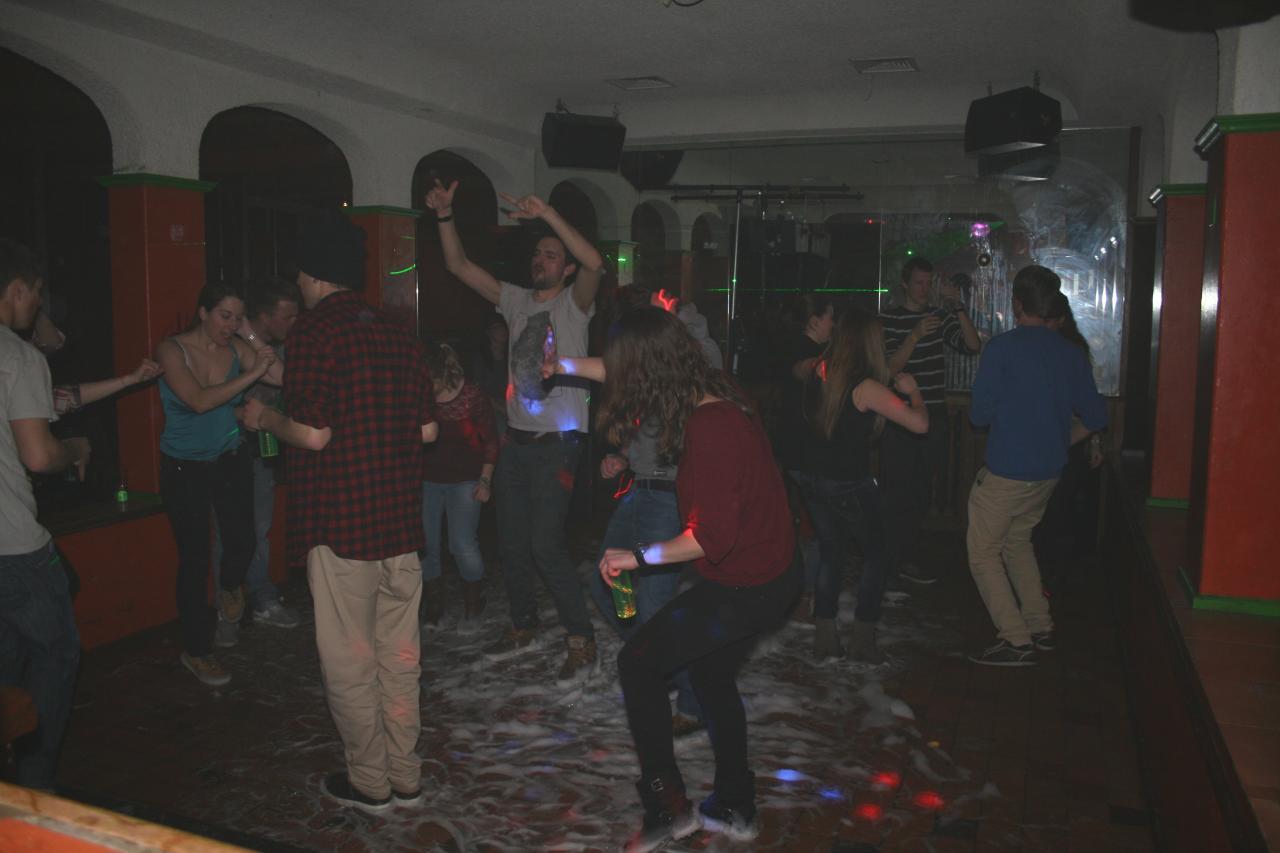 Le 1 mars 2014 Underground disco Thyon les Collons