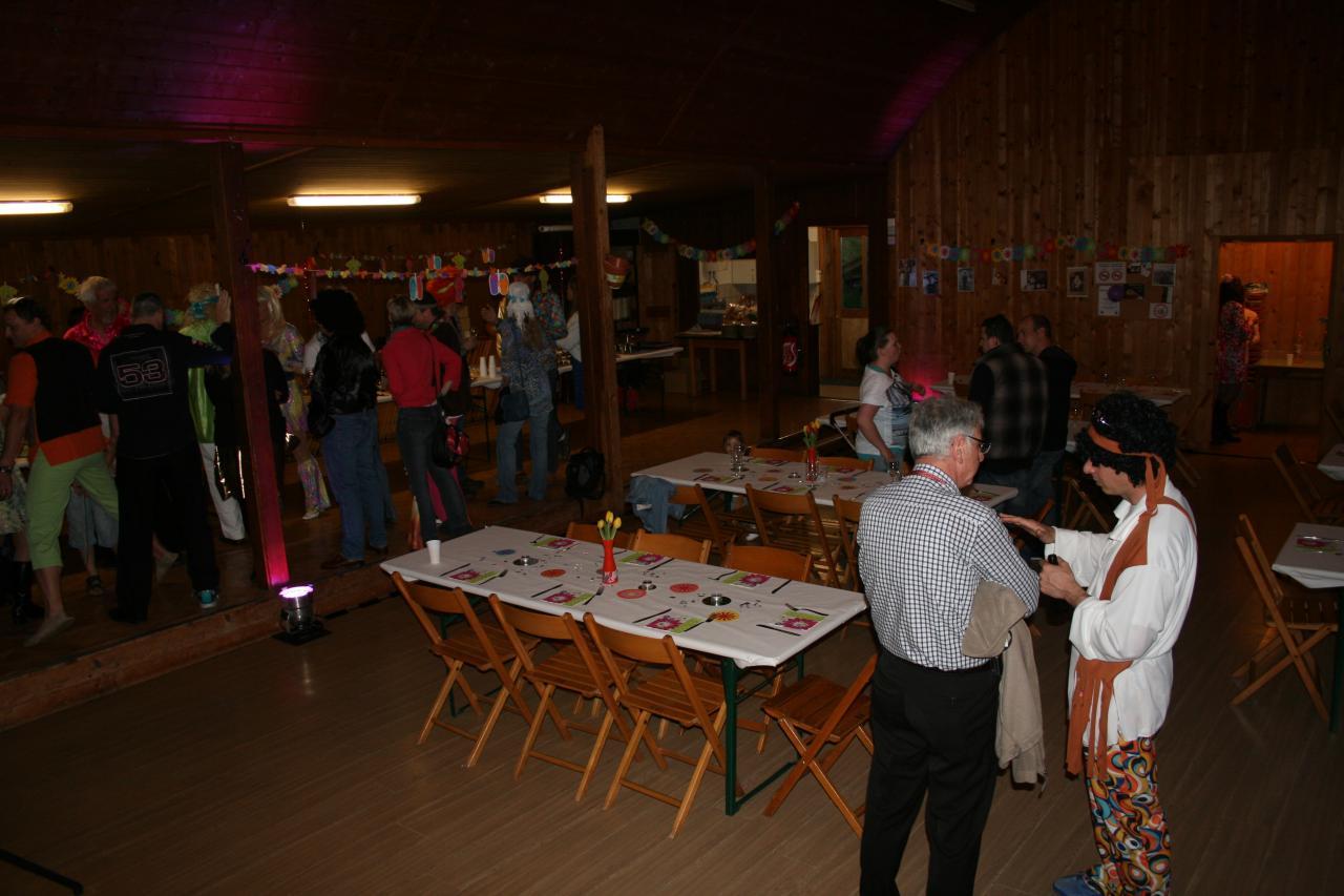 Le 5 avril 2014 soirée d'anniversaire privée salle du Fenalet Bex