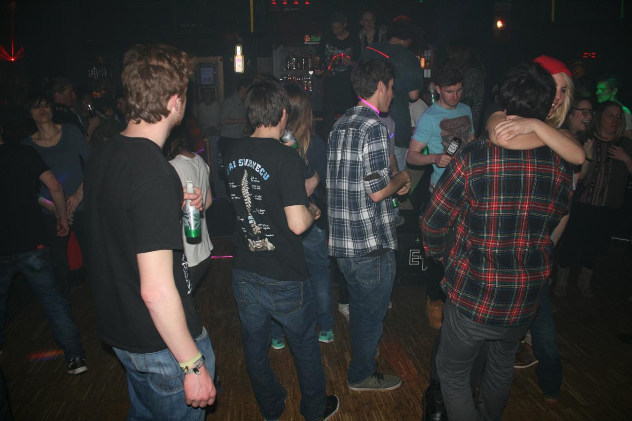 La Silver Night du samedi 8 mars 2014 au Shadock à Grimentz