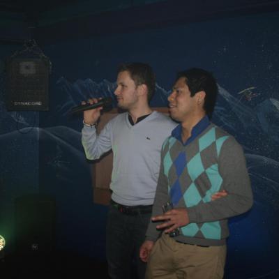 Le 17/02/2012 Soirée karaoke avec dj Atomick Night et Djette Au Dravers Disco à Torgon 22h00/4h00