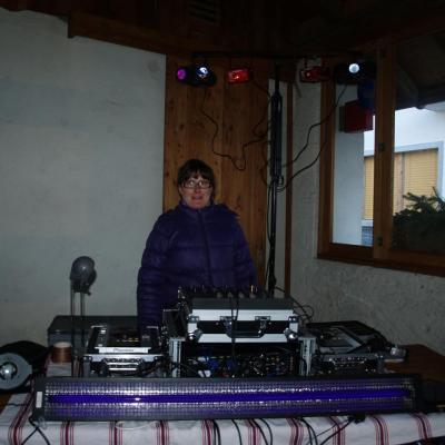 Le 21/02/2012 Carnaval des Enfants à Vercorin sur la place des Moutons 17h30/20h00 Djette Natascha et Dj White