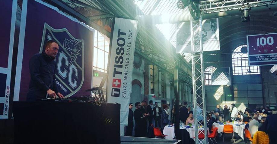 Anciens abattoirs Gala HCC La Chaux-de-Fonds 8 mars 2019