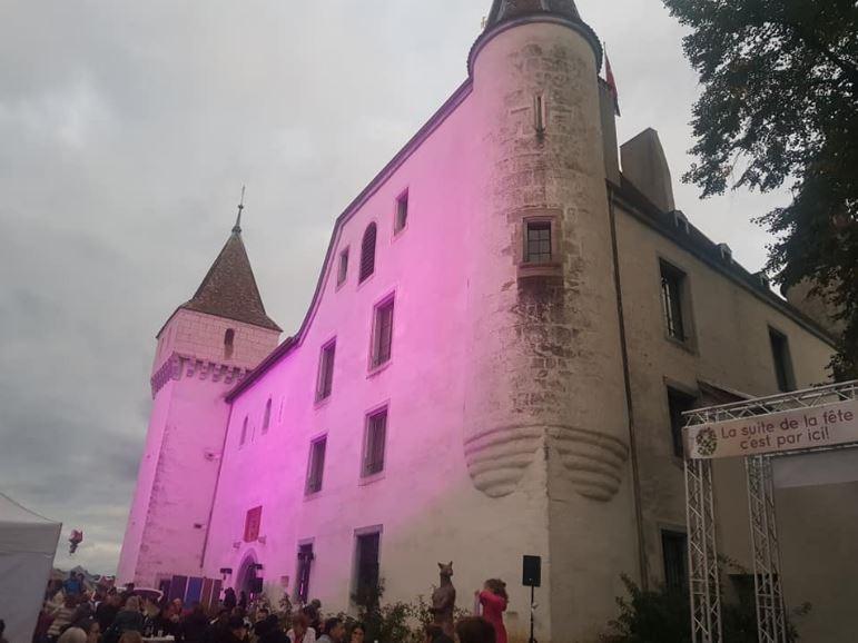 Anniversaire château de Nyon le 5 octobre 2019 2