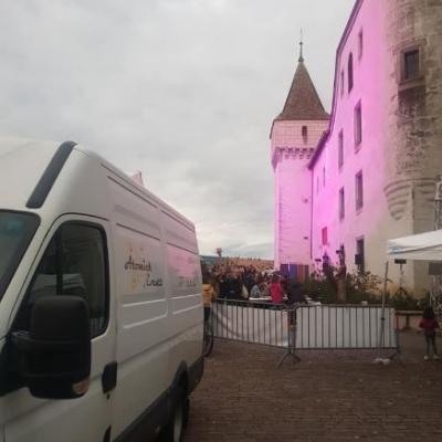 Anniversaire château de Nyon le 5 octobre 2019