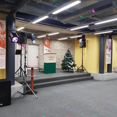 Apéro de Noël Département de la Santé Lausanne le 19 décembre 2019