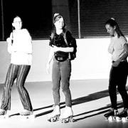 Disco roller patinoire des paccots le 04 09 2020