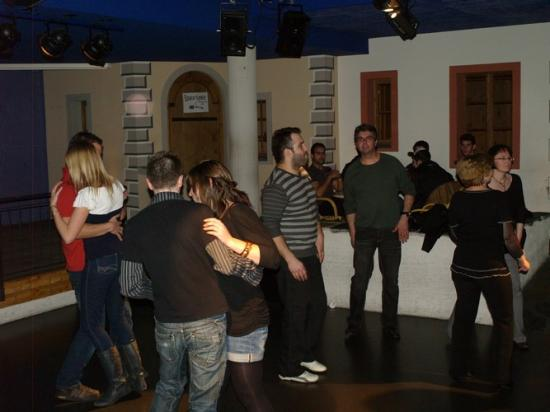 Soirée Disco la Bastide aux Bains de Saillons 4.02.2011