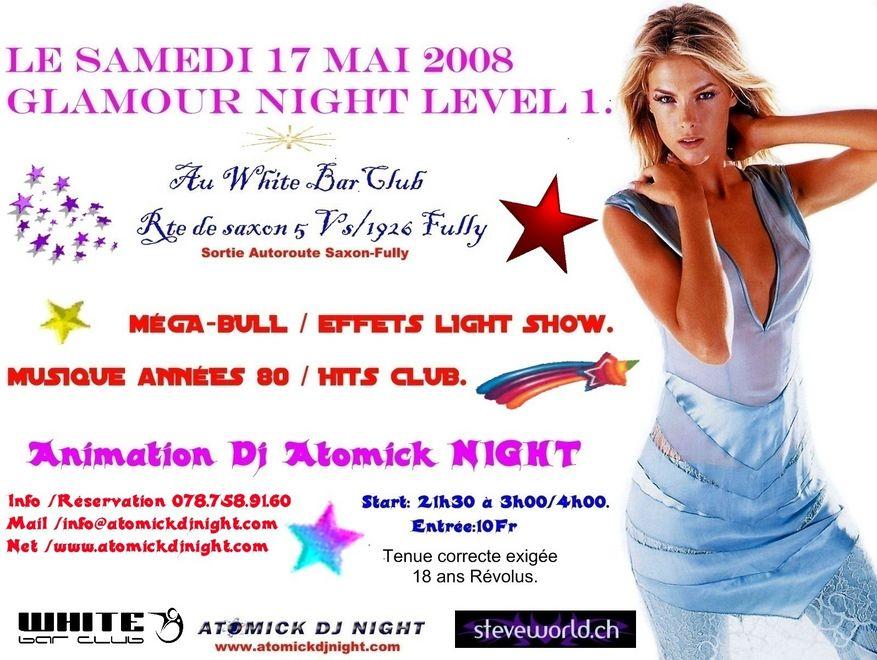 soirée glamour night
