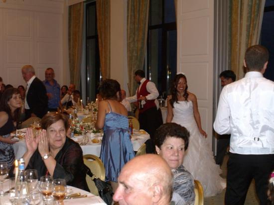 Le Samedi 18.09.2010 Soirée de Mariage A L'hôtel de la Paix Lausanne .