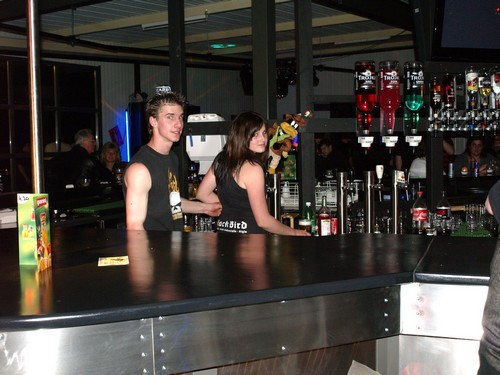 Soirée d'inauguration du tout nouveau Bar Black Bird Route Industriell