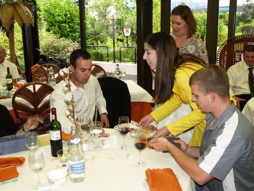 Le Samedi 6 Juin 2009 soirée privée : Mariage à la Lagune au Bouveret.