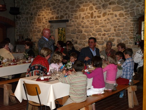 Le Samedi 18 Avril 2009 Mariage à 1321 Arnex