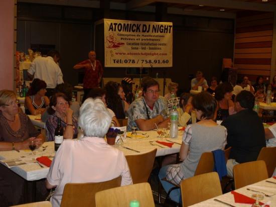 Le 11.09.2010 Soirée de soutien Association pass.