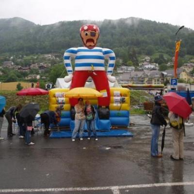 Le 18.06.2010 /  le 19.06.2010 Fête de Blonay 2010 pour une animation avec château gonflable