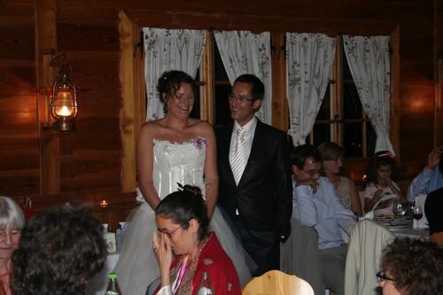 Le Samedi 19.09.2009 soirée de mariage au vieux chalet à crésuz