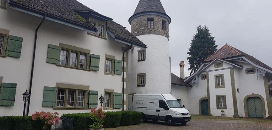 Château de la Grande Riedera au Mouret mariage 01.09.18