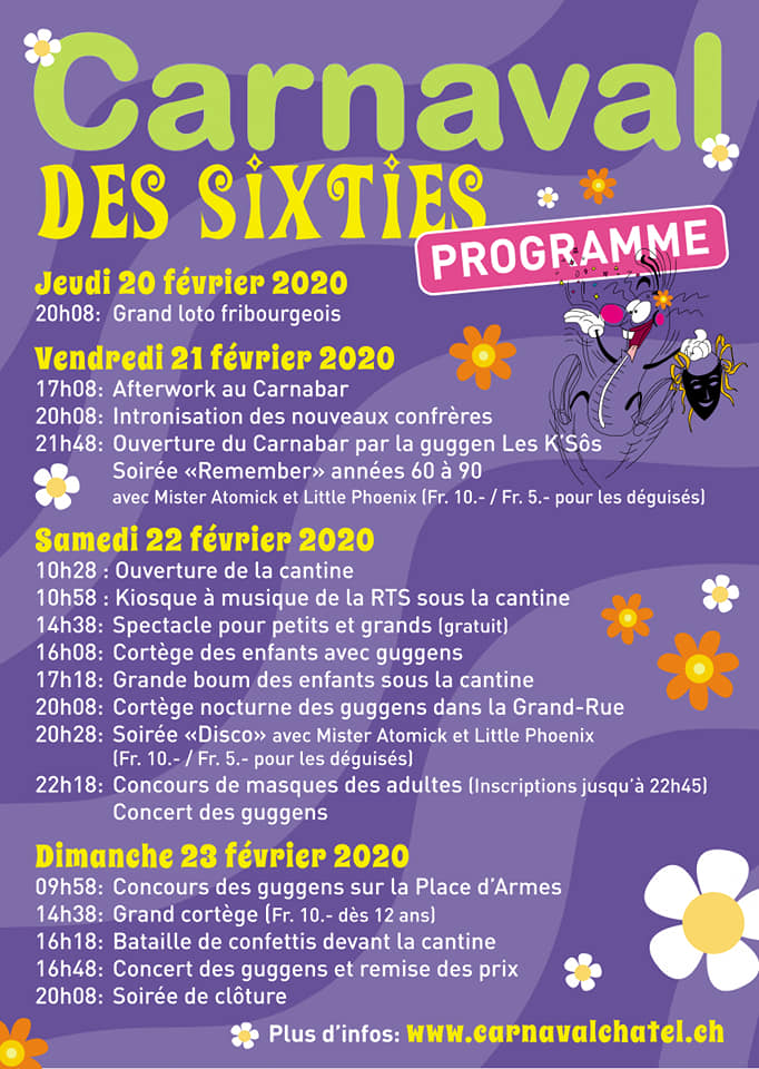 Préparation Carnaval de Châtel-St-Denis 2020