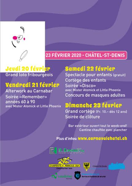 Préparation Carnaval de Châtel-St-Denis 2020 2