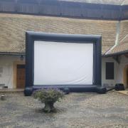 Projection écran géant