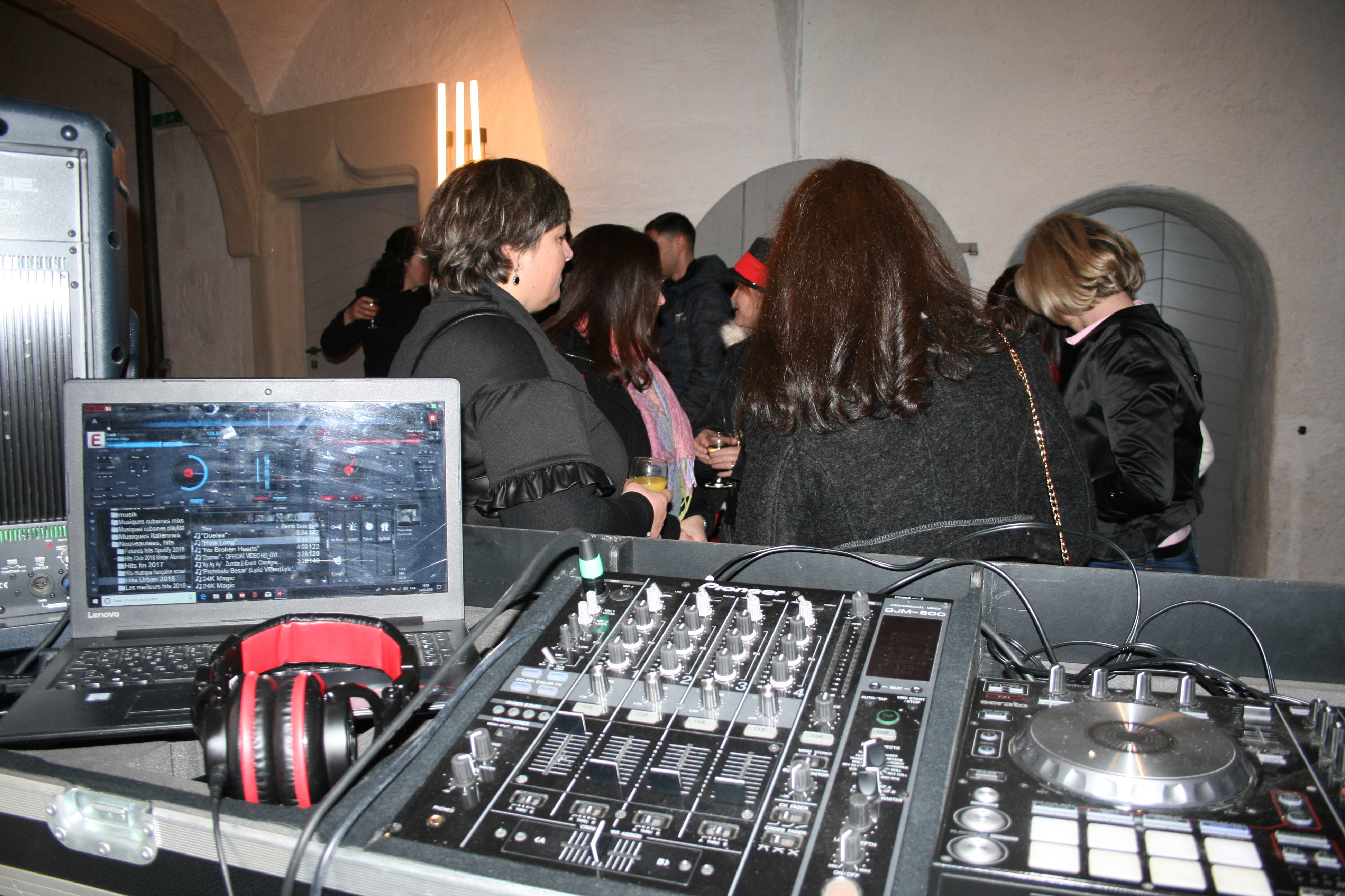 Château d'Oron soirée entreprise CRB 14.12.2018