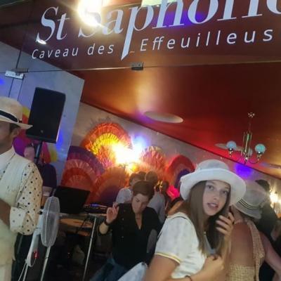 St-Sapholie, caveau des effeuilleuses, fête des vignerons, Mr. Atomick et Little Phoenix 4