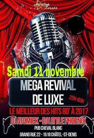 Méga Revival Mister Atomick et Little Phoenix Cheval Blanc