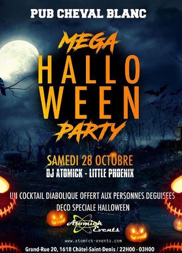 Cheval Blanc Halloween 28 octobre 2017 Mister Atomick et Little Phoenix