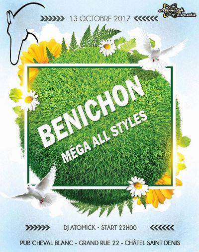 Bénichon au Cheval Blanc le 13 octobre 2017 avec Mister Atomick