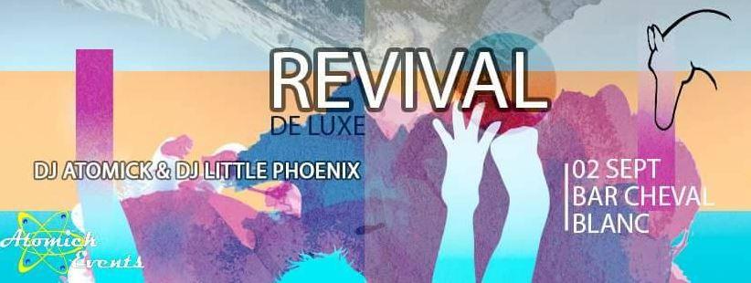 Cheval Blanc le 2 spetembre 2017 Mister Atomick et Little Phoenix