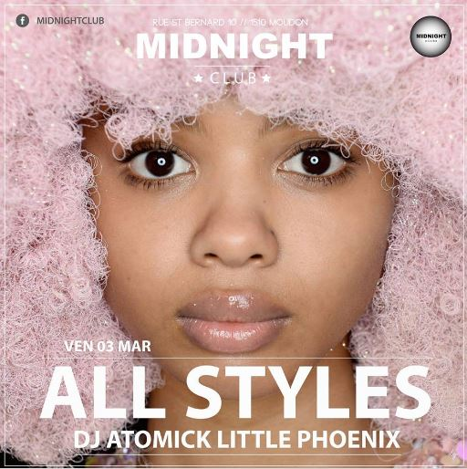 3 mars 2017 Midnight Moudon avec Mister Mike et Little Phoenix