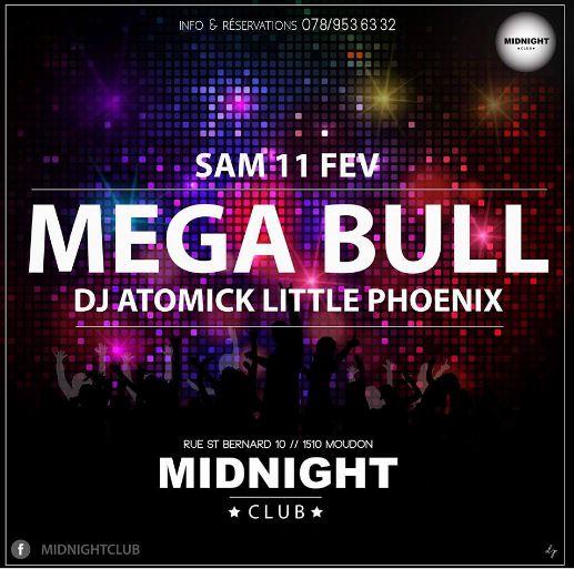 Mega bull Midnight Moudon Mister Atomick et Little Phoenix