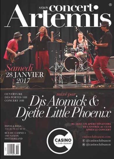 Casino Saxon 28 janvier 2017 Mister Atomick et Little Phoenix