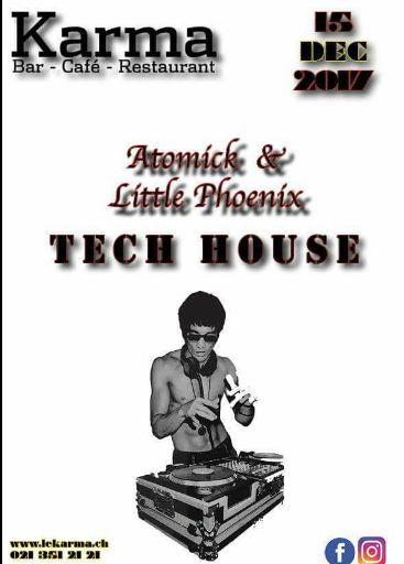 Techouse Karma Lausanne Mister Atomick et Little Phoenix