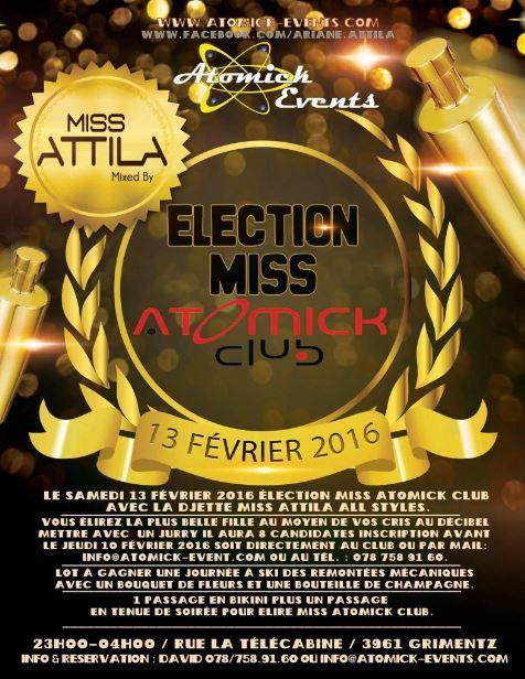 Miss Attila Atomick Club