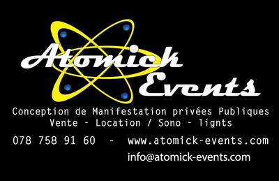 Atomick Event, nous créons vos événements sur mesure