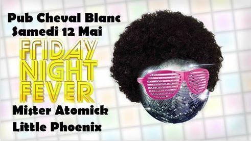 Cheval Blanc Mister Atomick et Little Phoenix