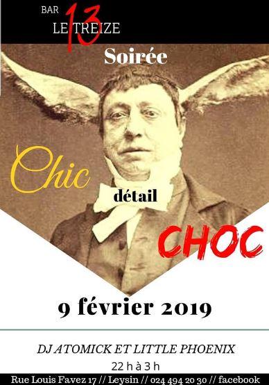 Soirée Chic choc Le Treize Leysin le 09.02.2019