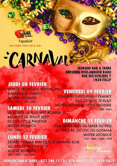 Carnaval de Fully 2018