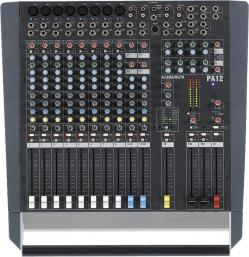 Location Table de mixage Allen & Heath PA12