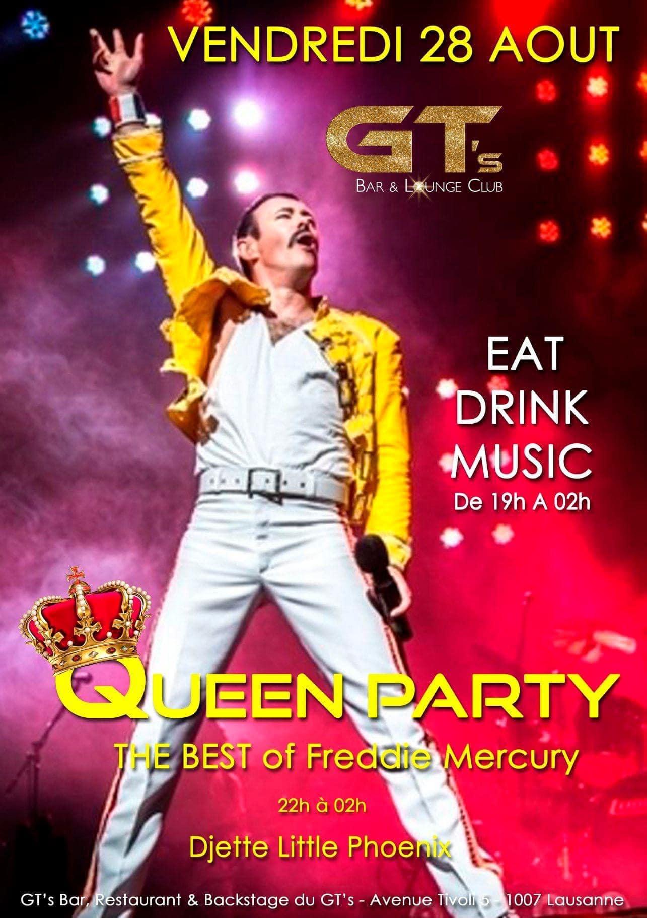Queen party gt s lausanne